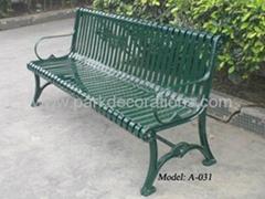 鑄鐵休閑椅 戶外花園座椅 廣州休閑椅