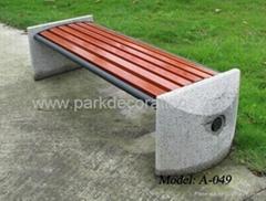 無靠背公園椅 優質公園椅 戶外公園椅