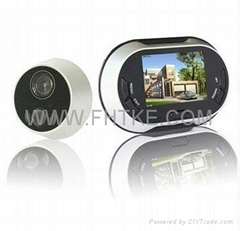 Digital Peephole Viewer with the doorbell and the DND function FH-109