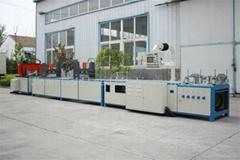 FRP pultrusion machine