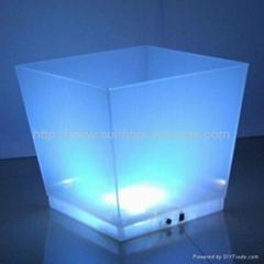 LED 发光冰桶