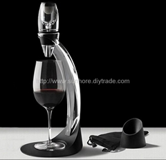 decanter and wine Aerator