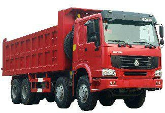 Sinotruck HOWO 380HP 8*4 Dump Truck/Tipper (ZZ3257N3447C) 1