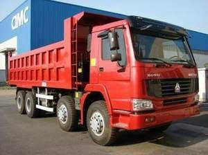 Sinotruck HOWO 380HP 8*4 Dump Truck/Tipper (ZZ3257N3447C) 3