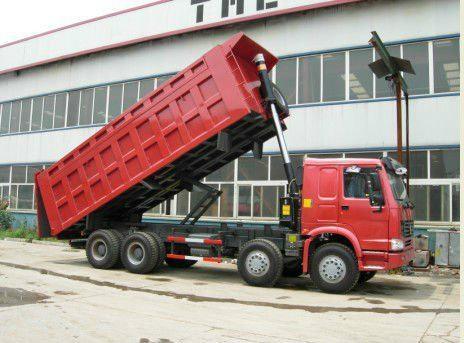 Sinotruck HOWO 380HP 8*4 Dump Truck/Tipper (ZZ3257N3447C) 4
