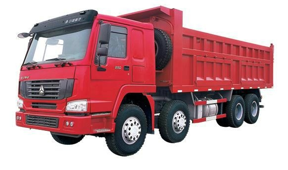 Sinotruck HOWO 380HP 8*4 Dump Truck/Tipper (ZZ3257N3447C) 5