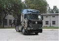 china heavy duty howo a7 6*4 tractor truck single horizontal 5
