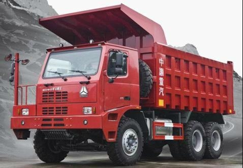 Sinotruk HOWO Mining King Dump Truck 1
