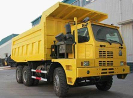 Sinotruk HOWO Mining King Dump Truck 3