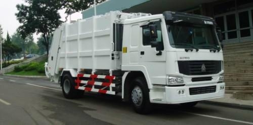 HOWO compactor garbage truck 1