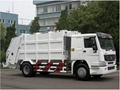 HOWO compactor garbage truck 2