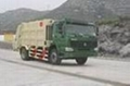HOWO compactor garbage truck 3