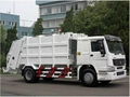 HOWO compactor garbage truck 5