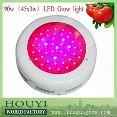 factory promotion wholesale diy hydroponics UFO 90w led grow light