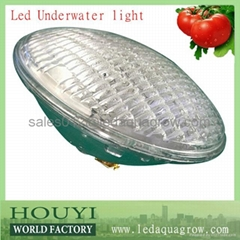 3W high bright 80lm/w par56 led par56 underwater light ip68 remote controlled