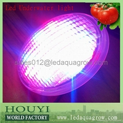 2013 newest underwater led light high power 54w IP68 remote controller best for