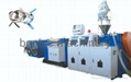 PVC reinforced pipe extrusion line