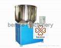 Plastics hot and cold mixer unit
