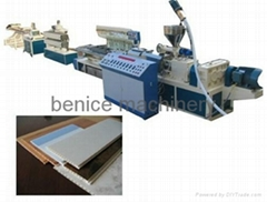 PVC Single layer multilayer wavy roofing tile production line