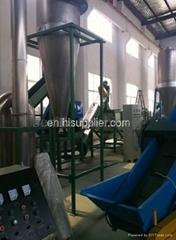 PP PE film crushing and washing processing machine