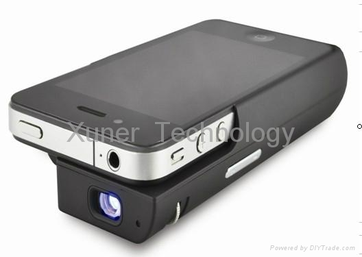Iphone projector for iphone 4 4s ipad xe ipp01 xuner for Iphone 5 projector price