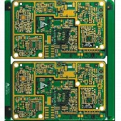 Multilayers PCB 8 Layers PCB Board Immersion Gold Surface