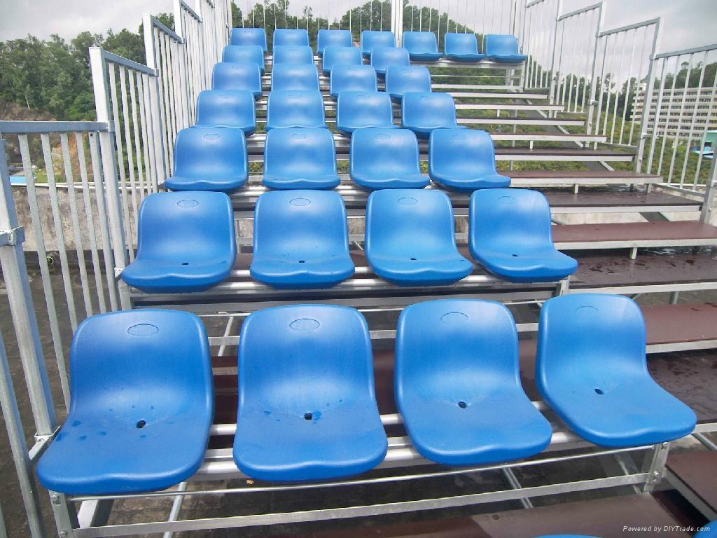 Metal Stadium Seats : Aneasy metal bleacher outdoor seating