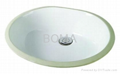 CUPC Ceramic Sink BMU-1714