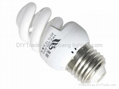 Sell T2 full Spiral type energy saving lamps 3-11w