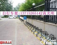 排列规范的自行车停车架|电动车停车架的生产厂家