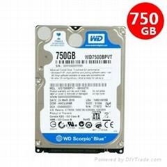 WD750GB hard disk