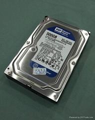WD500GB hard disk