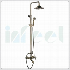 single handle bath and shower mixer