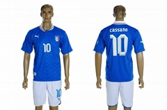 2012 European Champions Cup national team Soccer Jersey