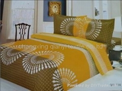 Bedding cloth fabric