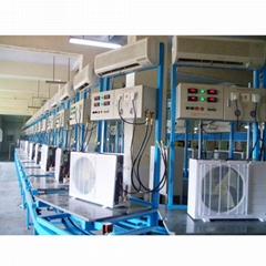 air-conditioner assembly line