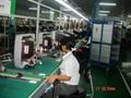color TV assembly line