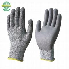 PU palm coated cut resistance glove level 3