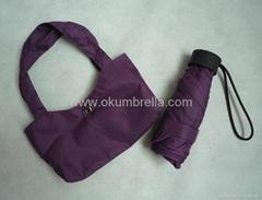 2012 new mini 5 folding umbrella
