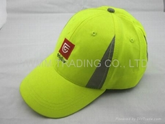 6 Panel Embroidery Cotton baseball cap promotional cap gift visor hat
