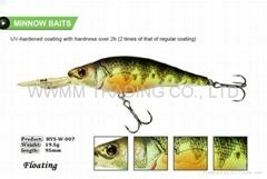 Rapala quality fishing lure hard baits plastic lure--MINNOW