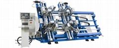 Vertical Four Point Welding Machine CNC Parallel Welding