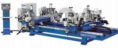 Horizontal Four Point Welding Machine CNC Parallel Welding Type HRWD-3000BG