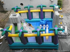 inflatable bouncy castle for kids