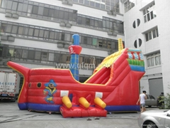 inflatable bouncer pirate ship