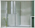 ultra clear shower room tempered glass