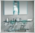 12mm tempered glass for basin