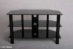 6mm-12mm black tempered glass for table
