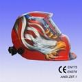 Auto darkening welding mask 5