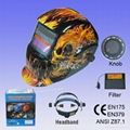 Auto darkening welding mask 2